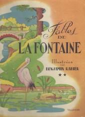 Les fables de La Fontaine (Rabier) -a- Fables de La Fontaine **