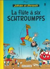 Johan et Pirlouit -9c1986- La flûte à six schtroumpfs