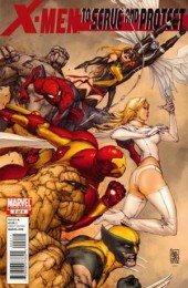 X-Men: To Serve And Protect (2011) -2- Gold, guns, girls