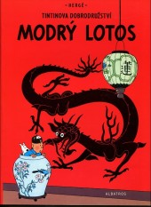Tintin (en langues étrangères) -5Tchèque- Modrý Lotos