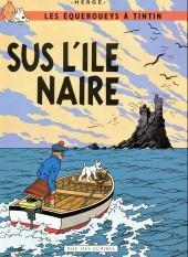 Tintin (en langues régionales) -7Gallo- Sus l'île naire