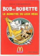 Bob et Bobette (Publicitaire) -McDo3- Le monstre du Loch Ness