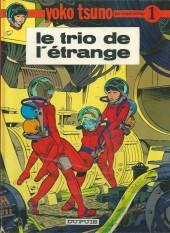 Yoko Tsuno -1b84- Le trio de l'étrange