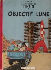 Tintin (Historique) -16B10- Objectif lune