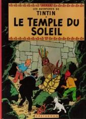 Tintin (Historique) -14C6- Le temple du soleil