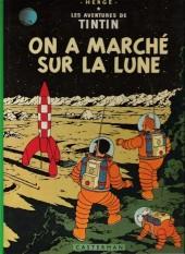 Tintin (Historique) -17C4Ter- On a marché sur la lune