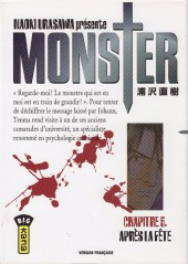 Monster (Urasawa) -5- Après la fête