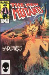 New Mutants (The) (1983) -20- Badlands