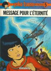 Yoko Tsuno -5b85- Message pour l'éternité