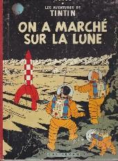 Tintin (Historique) -17B35- On a marché sur la lune
