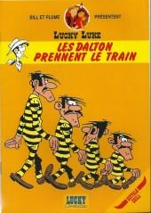 Lucky Luke (Pub et Pastiches) -Buf1- Les Dalton prennent le train