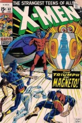 Uncanny X-Men (The) (1963) -63- War in the world below