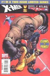 X-Men vs. the Agents of Atlas (2009) -1- The X-Heist