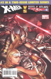 X-Men vs. the Agents of Atlas (2009) -2- The X-Heist part 2