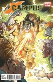 X-Campus (2010) -3- The fury and the steel/Three friends