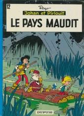 Johan et Pirlouit -12b1979- Le pays maudit