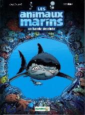 Les animaux marins en bande dessinée - Tome 1