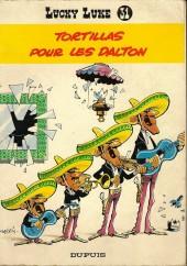Lucky Luke -31a73- Tortillas pour les Dalton