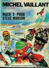 Michel Vaillant -14b1976'- Mach 1 pour Steve Warson