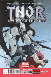 Thor: God of Thunder Vol.1 (Marvel comics - 2013-2014) -5- The God Butcher, Part Five of Five : Dream of the Godless Age
