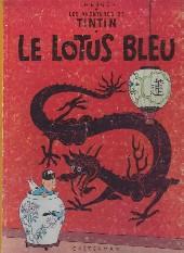 Tintin (Historique) -5B12- Le lotus bleu