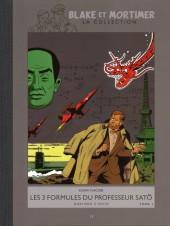 Blake et Mortimer - La collection (Hachette) -11- Les 3 formules du professeur Satô - Tome I - Mortimer à Tokyo