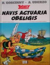 Astérix (en latin) -30- Navis actuaria obeligis