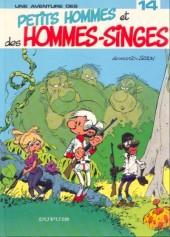 Les petits hommes -14a86- Les petits hommes et les hommes singes