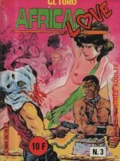 African Love -3- Kanté noir Rocky blanc