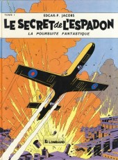 Blake et Mortimer (Historique) -1b82- Le Secret de l'Espadon - Tome I - La Poursuite fantastique