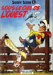 Lucky Luke -4b86- Sous le ciel de l'ouest