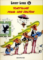 Lucky Luke -31a85- Tortillas pour les Dalton