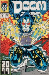 Doom 2099 (Marvel comics - 1993) -2- The action of the Tiger