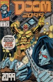 Doom 2099 (Marvel comics - 1993) -4- Fire answers fire