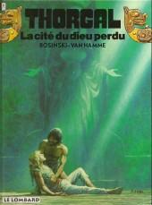 Thorgal -12b1996- La cité du dieu perdu
