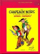 Spirou et Fantasio - La collection (Cobra) -21- Les chapeaux noirs et 3 autres aventures de Spirou et Fantasio !