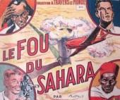 À travers le monde (1re série) -10- Le fou du Sahara