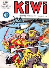 Kiwi -404- L'île des chevaliers noirs...