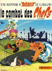 Astérix -7a86- Le combat des Chefs