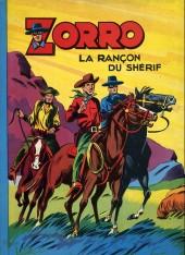 Zorro (Oulié) -1- La rançon du shérif