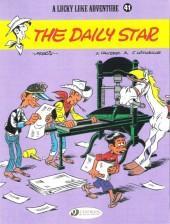 Lucky Luke (en anglais) -5341- The daily star