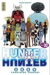 Hunter X Hunter -30- Réponse