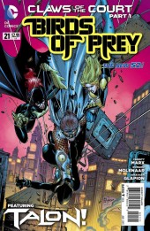 Birds of Prey (2011) -21- Talon Vs Talon