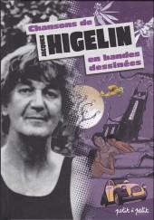Chansons en Bandes Dessinées  -a- Chansons de Jacques Higelin en bandes dessinées
