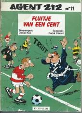 Agent 212 (en néerlandais) -11- Fluitje van een cent
