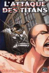 L'attaque des Titans -2- Tome 2