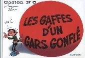 Gaston -5b- Les gaffes d'un gars gonflé