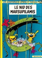 Spirou et Fantasio -12f97- Le nid des Marsupilamis