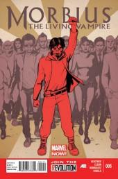 Morbius, The Living Vampire (2013) -5- Issues 5