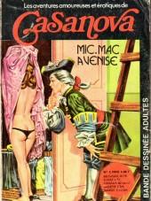Casanova (Les Aventures amoureuses et érotiques de) -2- Mic.mac à Venise